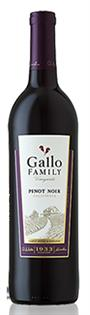 Ernest & Julio Gallo Pinot Noir Estate 2012 750ml